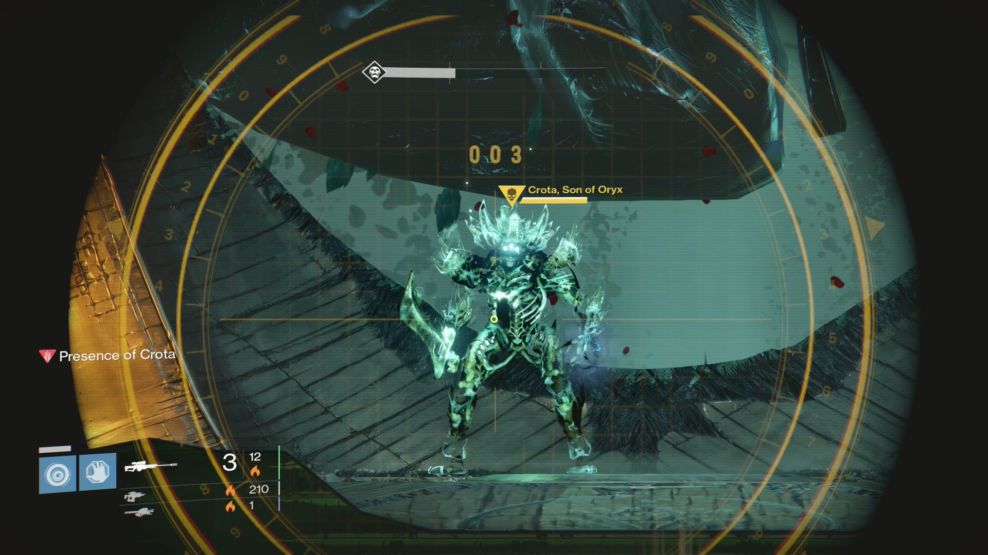 Destiny how many lamps are in crotas end - Crota Himself