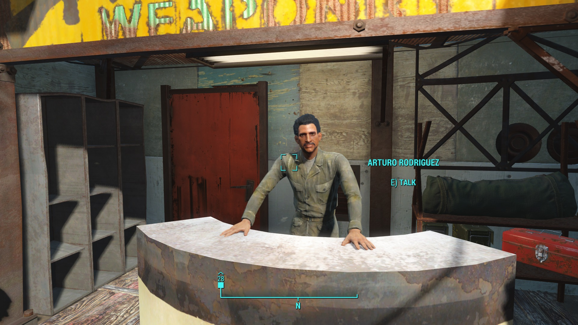 Trade Stands Fallout 4 : Fallout unique and exceptional weapons guide usgamer