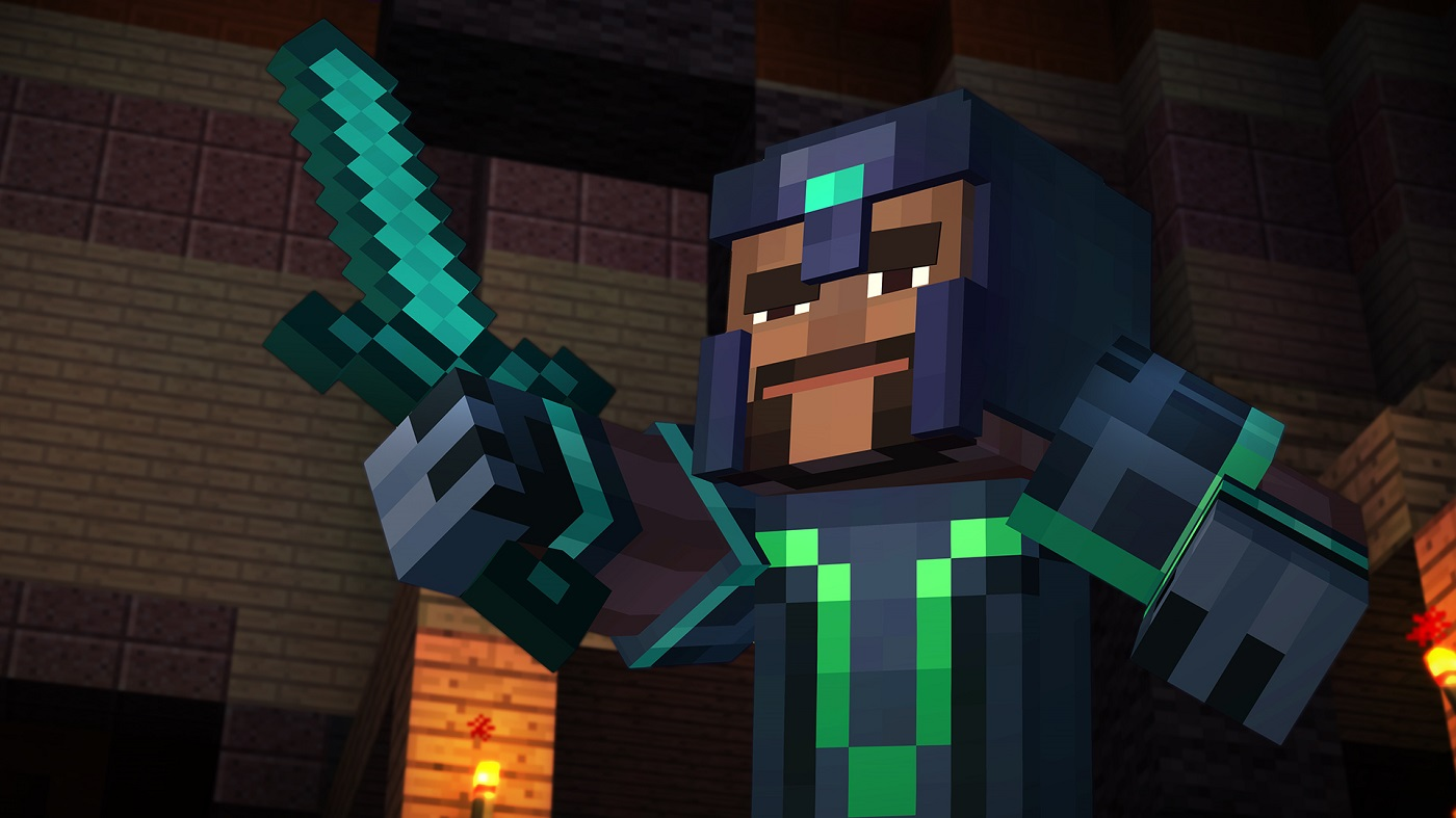 story mode Episode 1 - free - the adventure of a lifetime in the world of minecraft continue your adventures with the new order of the stone by purchasing the adventure pass (via in-app), which includes access to download episodes six, seven, and eight.