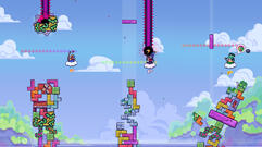 Tricky Towers Melds Tetris and Jenga Brilliantly