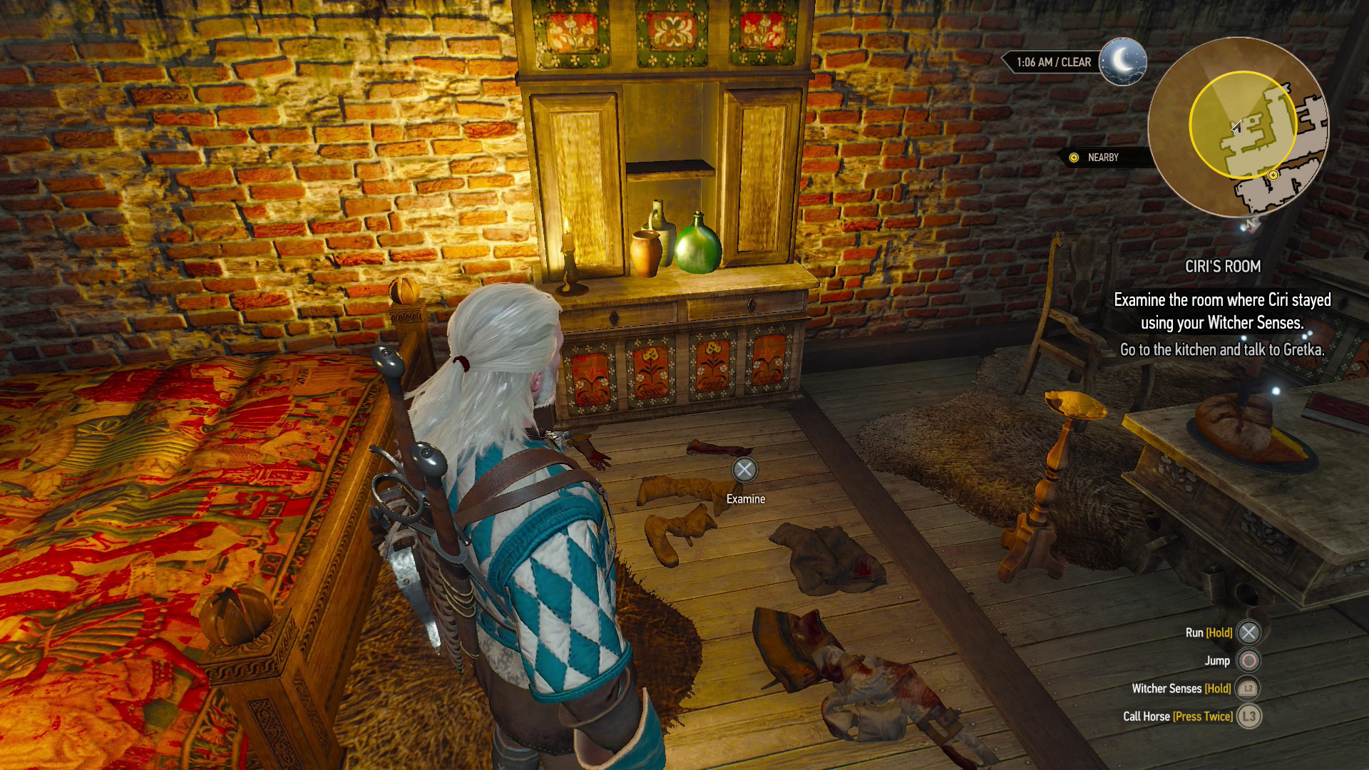 Witcher  Read The Book In Ciri S Room