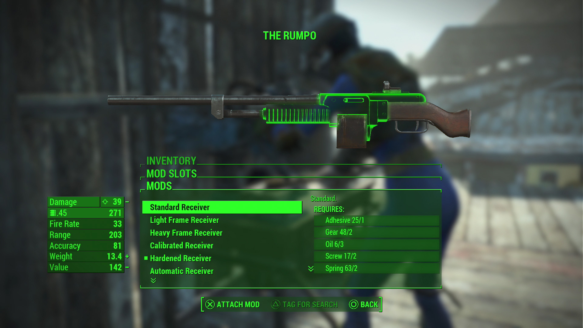 Weapon Crafting Fallout  Mod
