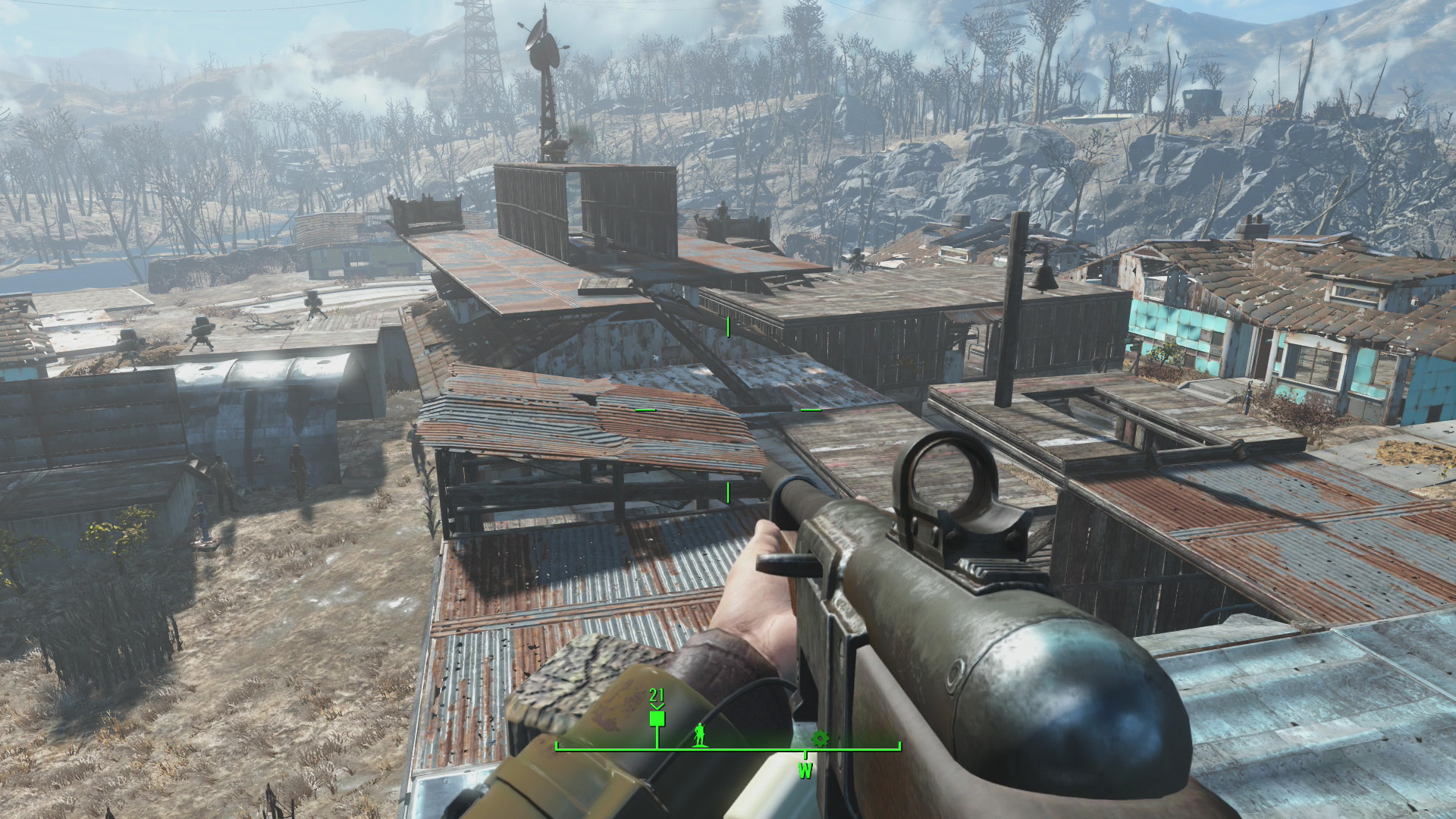 Fallout 4 tips for fast travel v a t s and your pip boy for Build best construction