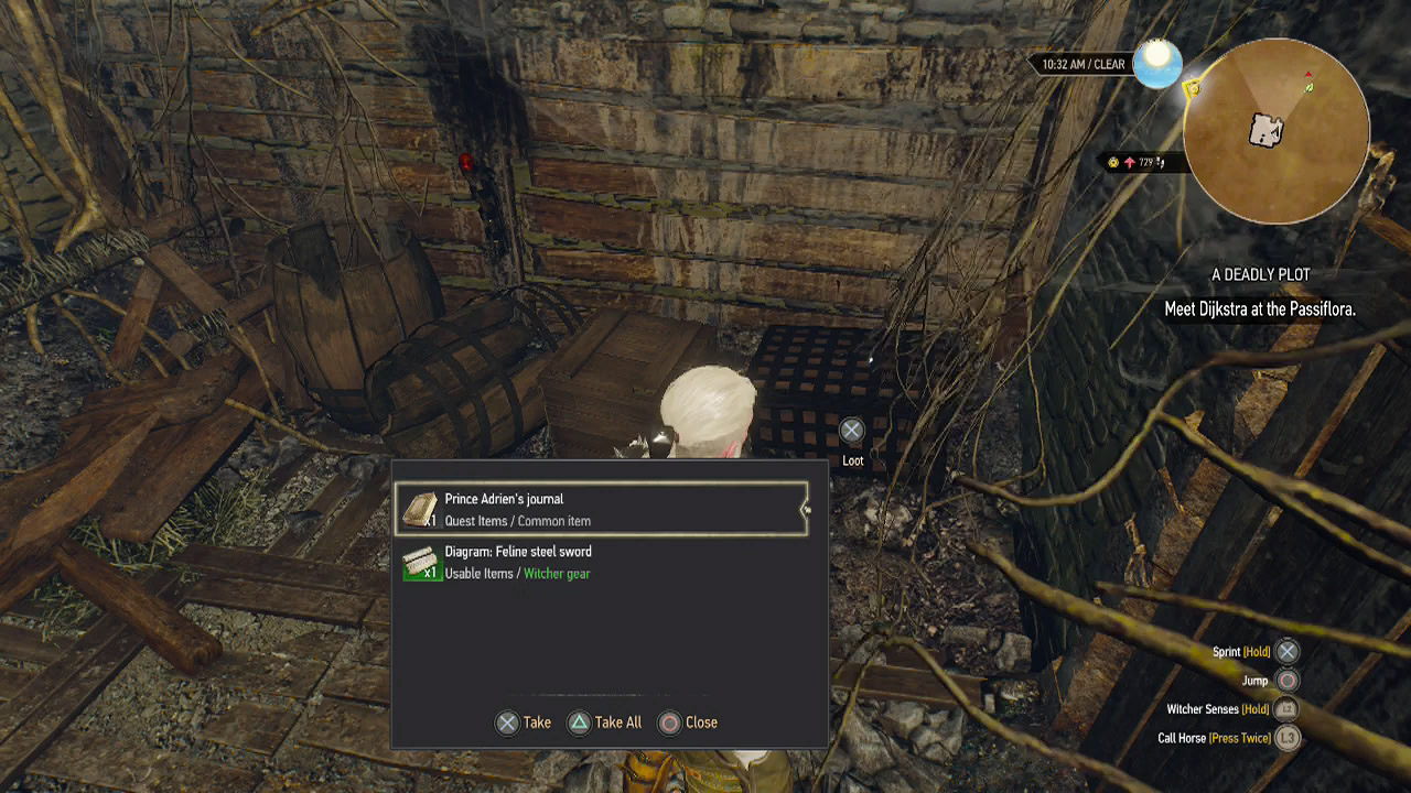 The Witcher 3 - Where to Find the Cat School Gear | USgamer