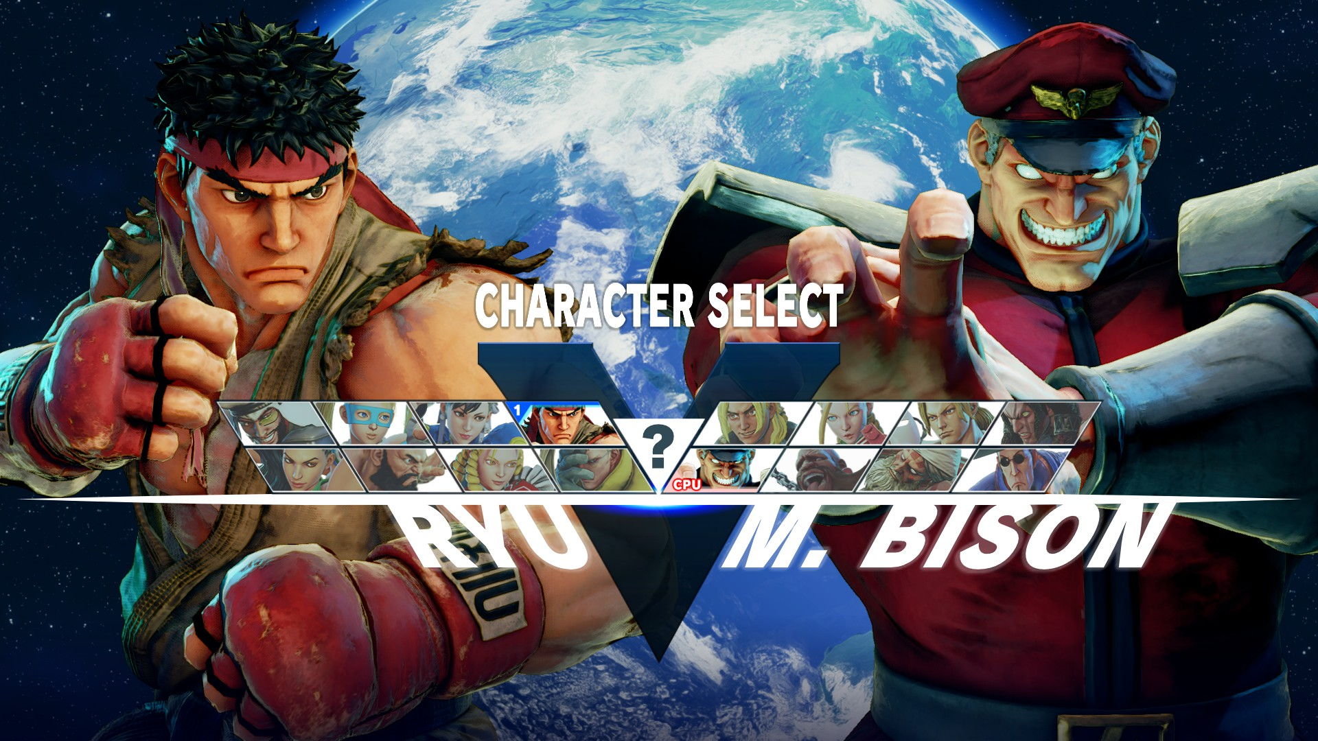 Roster dei personaggi disponibili al lancio di Street Fighter V
