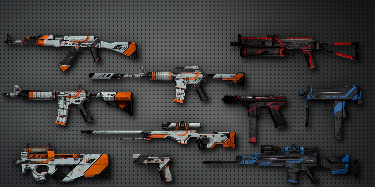 counter strike gun skins