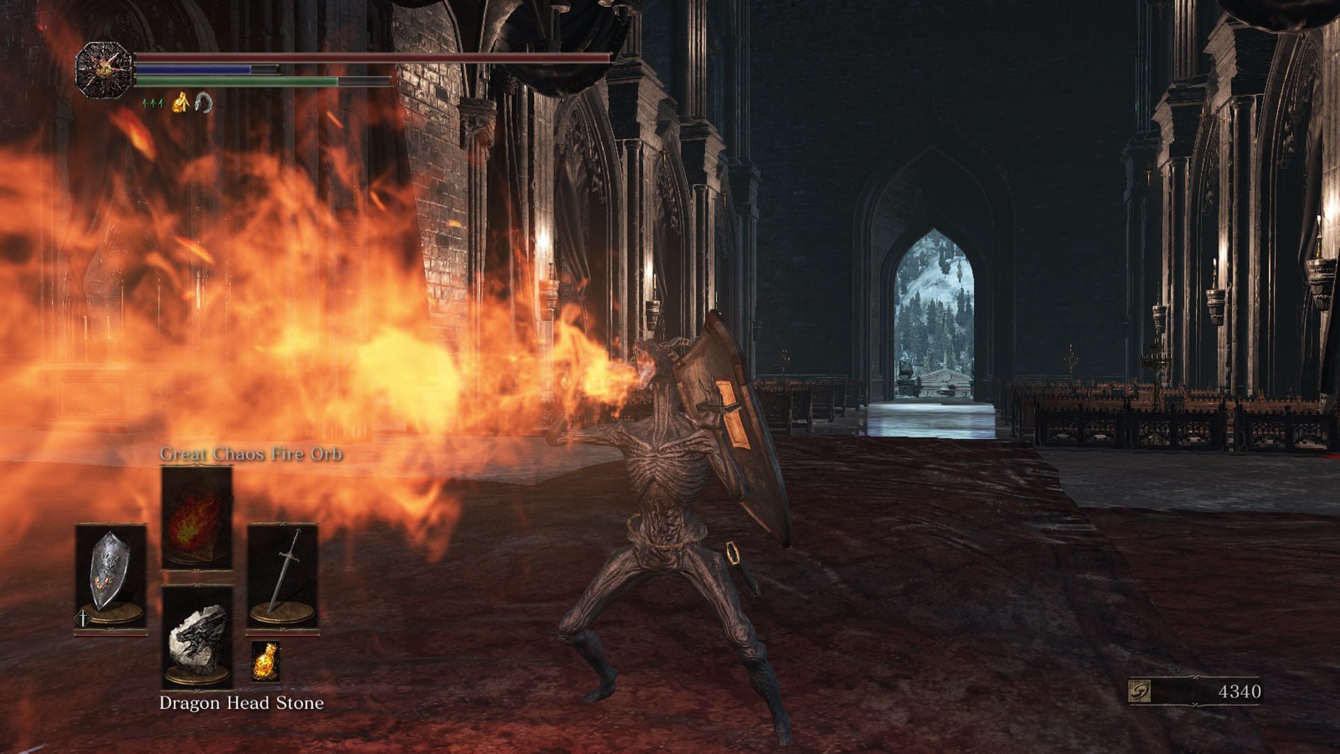 how to use fire surge dark souls