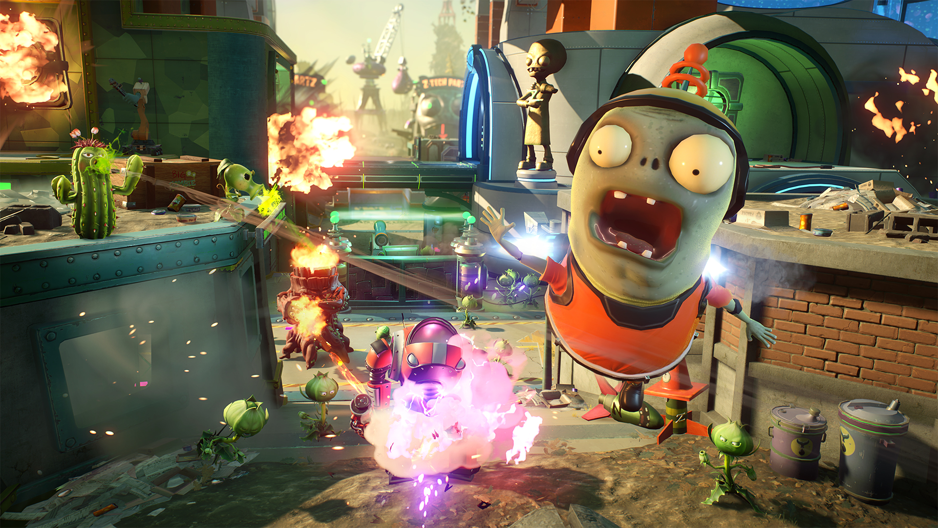 Plants Vs Zombies Garden Warfare 2 Xbox One Review More Expansion Than Sequel Usgamer