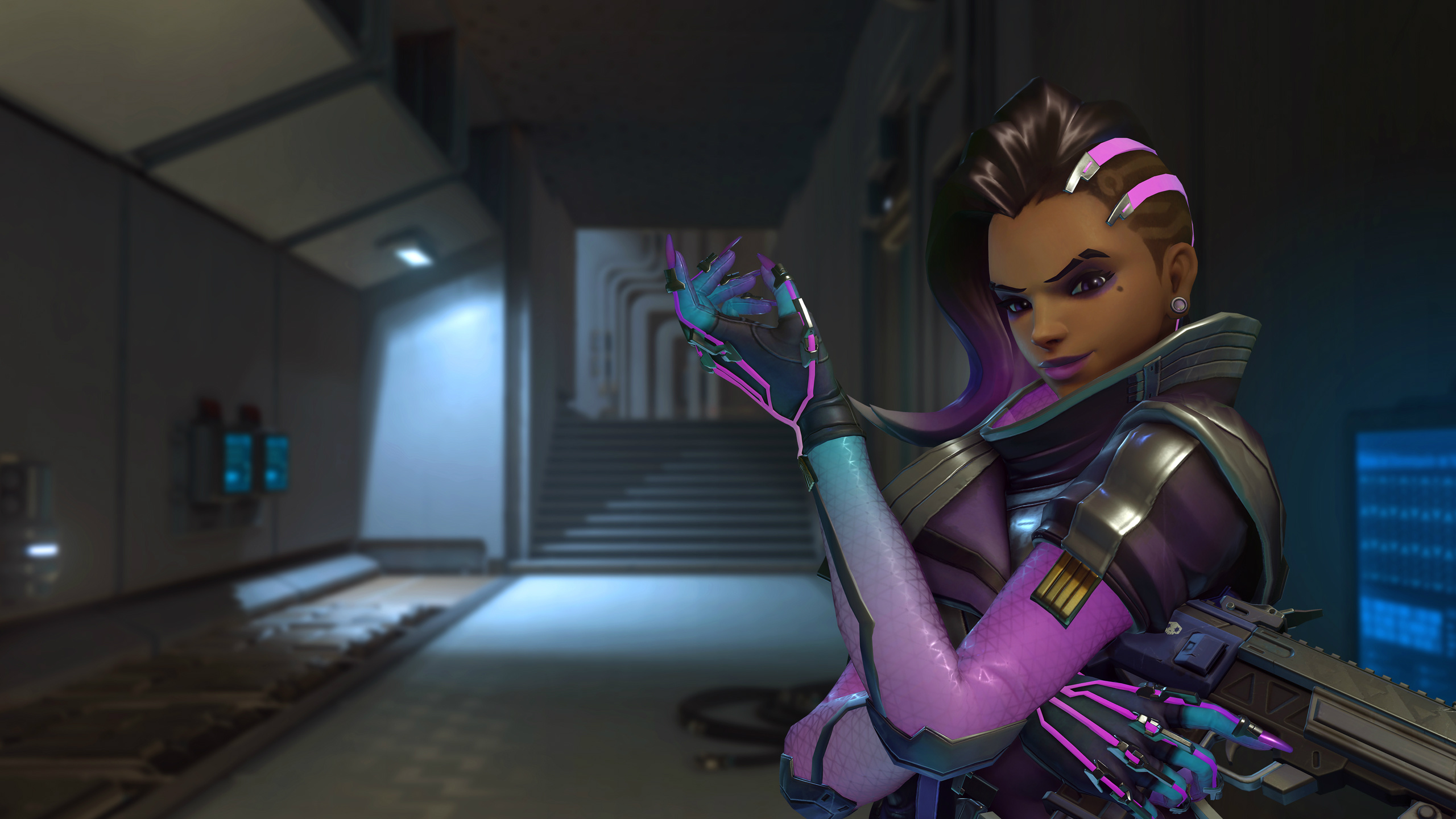 how tall is overwatch sombra