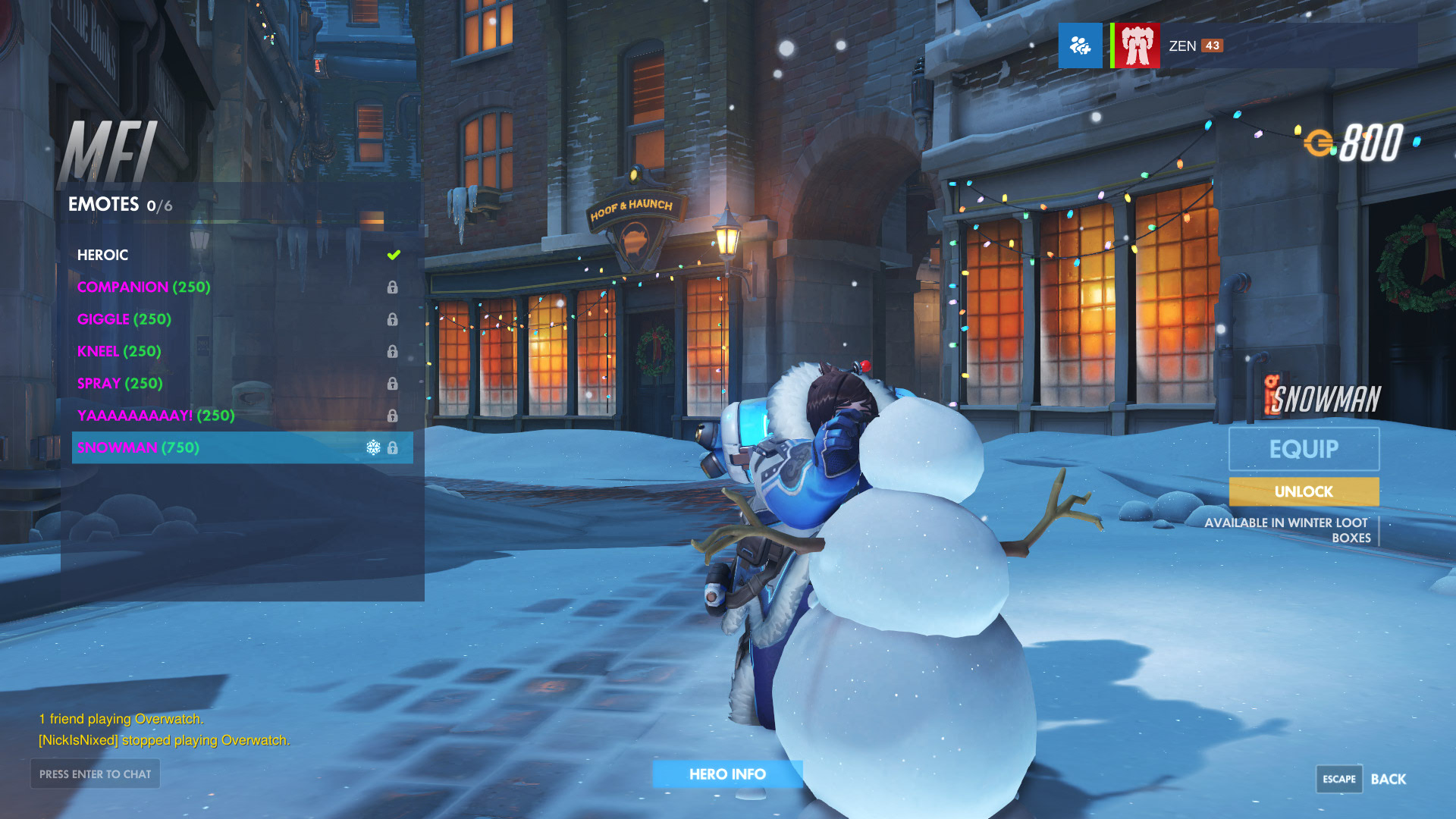 Overwatch Holiday Update Offers New Winter Wonderland Skins | USgamer