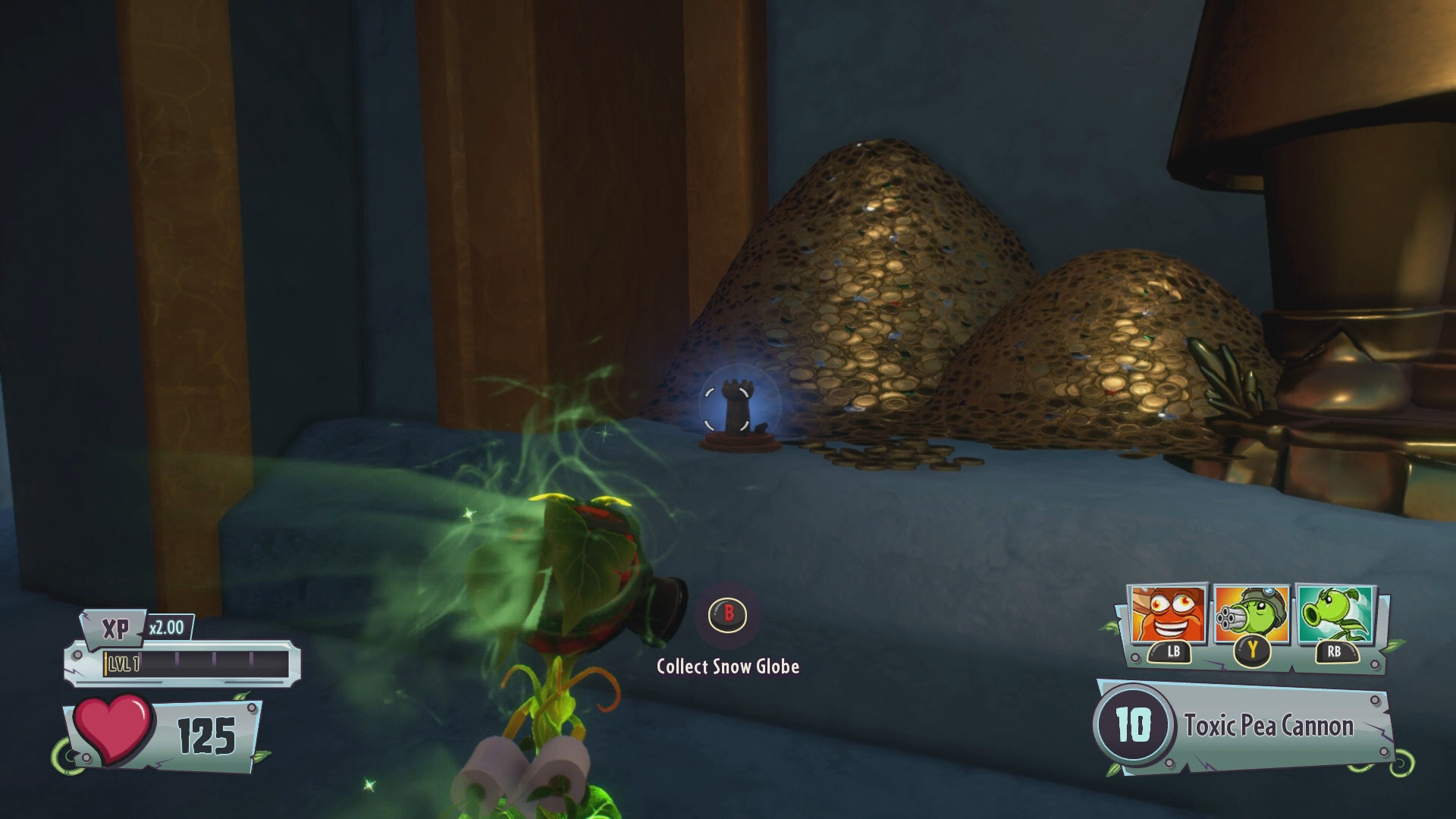 Plants Vs Zombies Garden Warfare 2 All Snow Globe Locations Usgamer