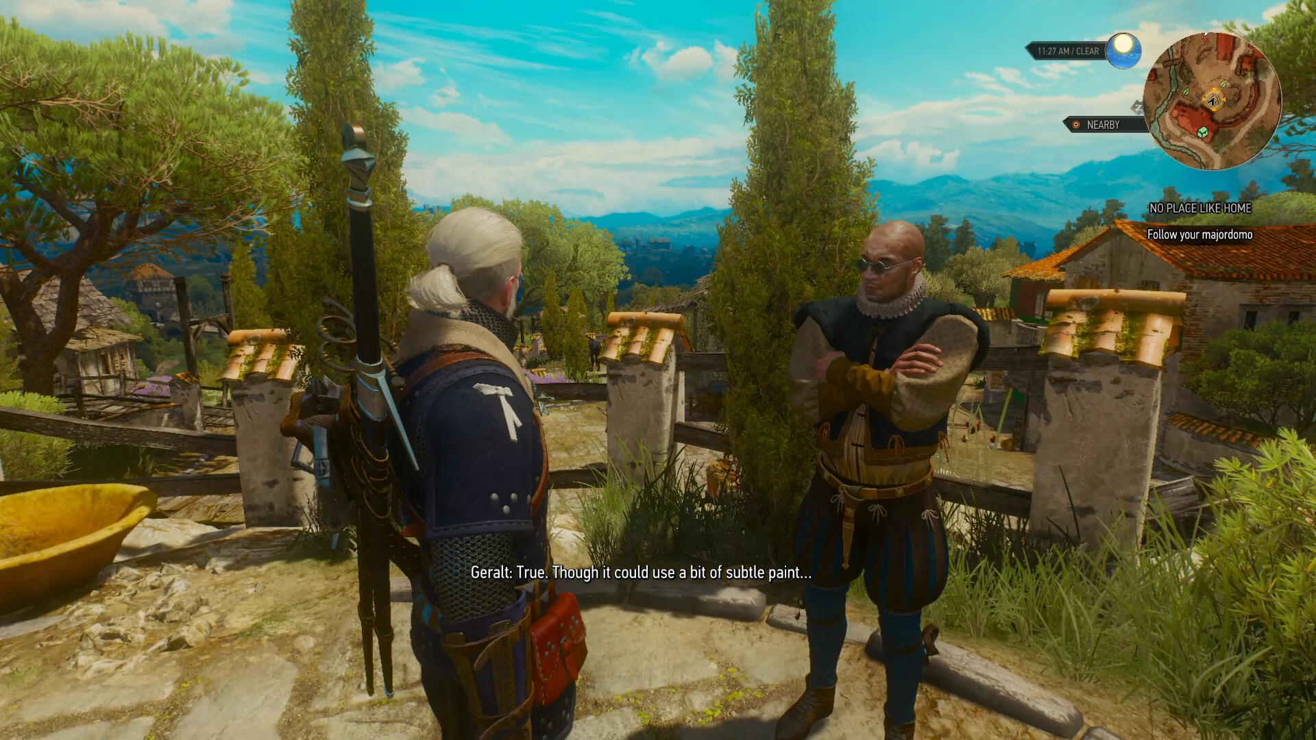 More upgrades become available after purchasing the initial set of  renovations  Each upgrade offers a unique feature for Geralt or Roach. The Witcher 3   How to Upgrade Corvo Bianco Vineyard   USgamer