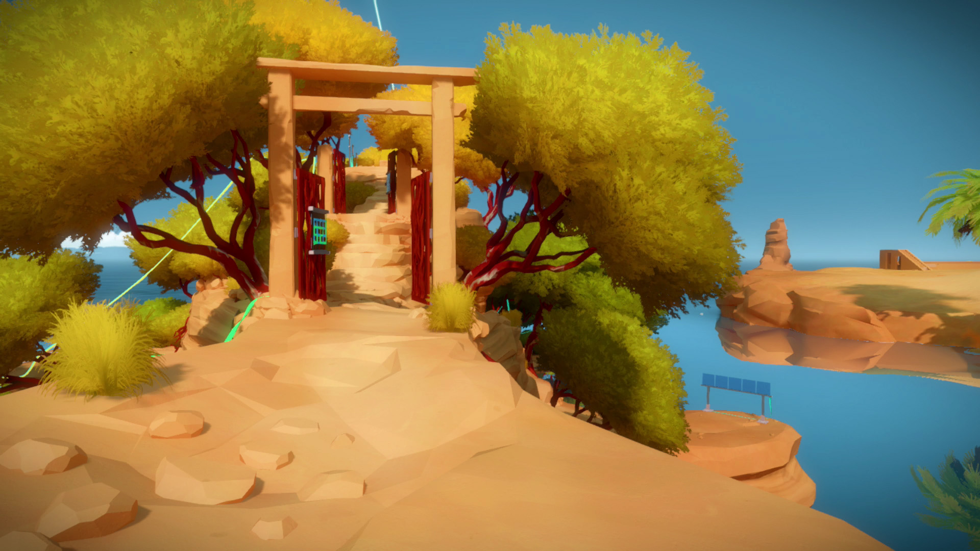 The witness the symmetry puzzle solution usgamer for 16 door puzzle solution