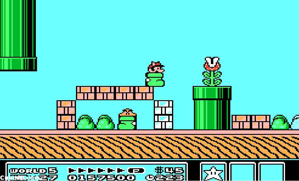 Super mario bros 1 2 and 3 nes classic edition tips for Classic underground house