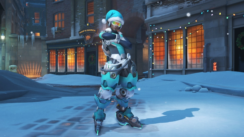 Overwatch Winter Wonderland 2017 Skins All The Legendary Skins In