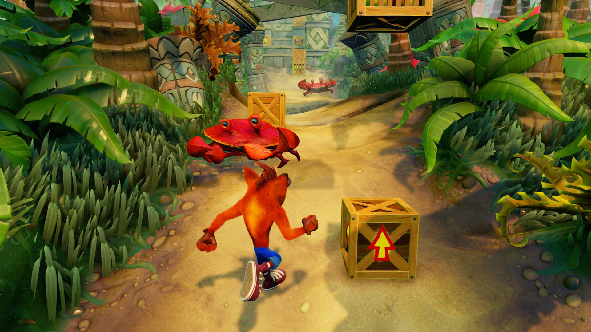 What are Colored Gems in Crash Bandicoot PS4?
