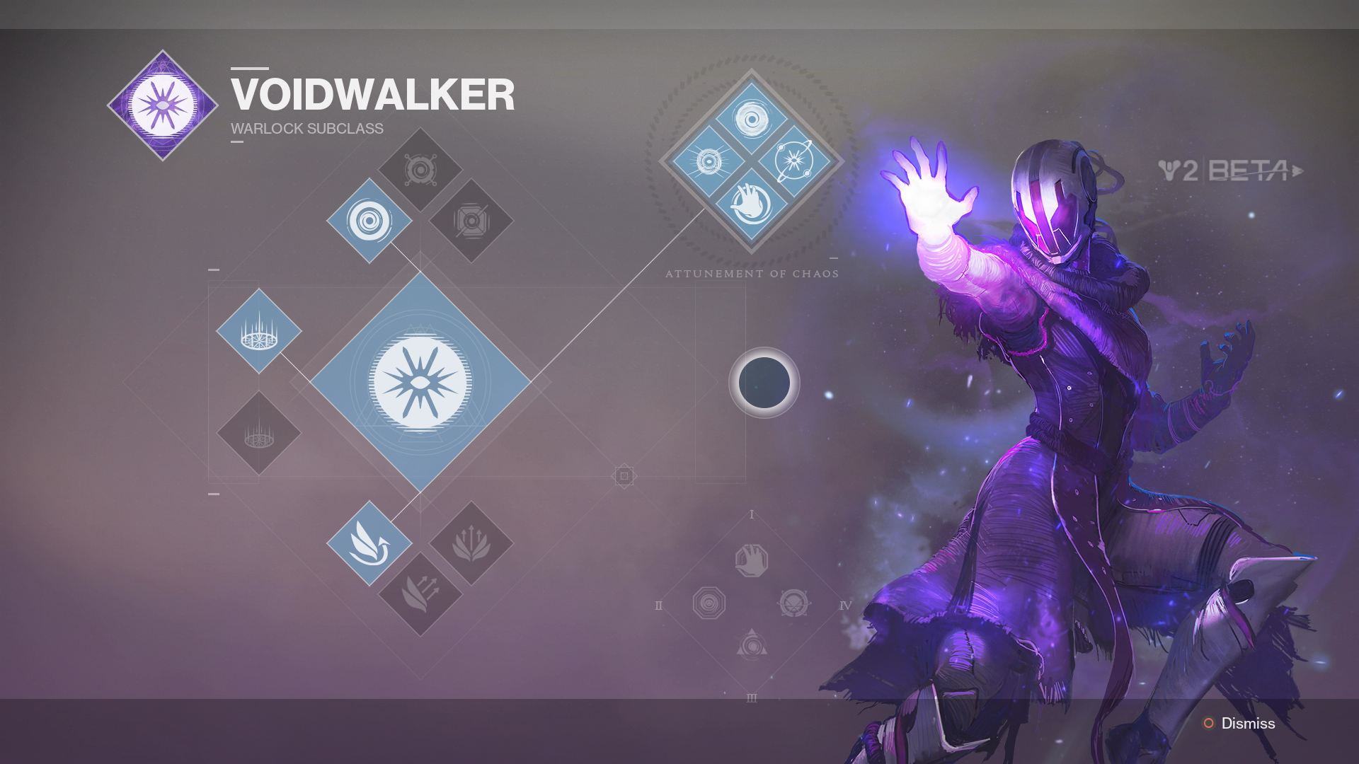 Voidwalker Build Destiny