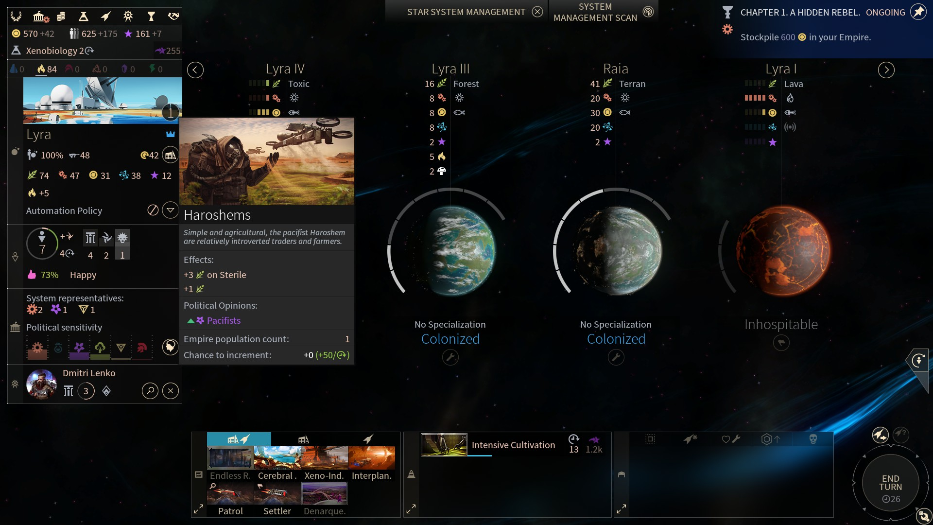 endless space 2 review: in space, no one can hear you campaign