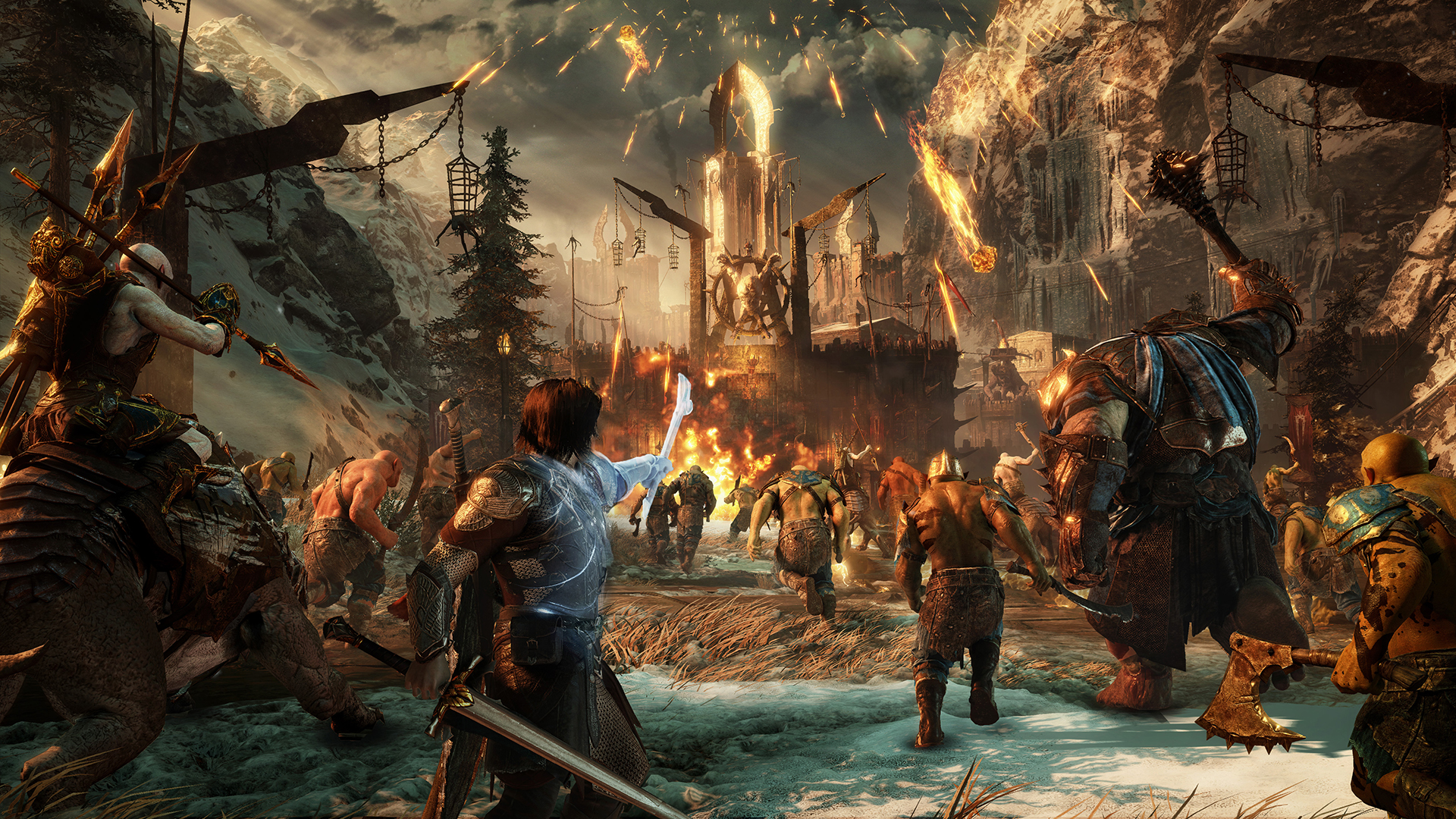 Middle-earth: Shadow of War's charity DLC will be free for everyone