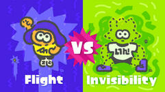Nintendo Announces Splatoon 2's Next Splatfest: Flight Vs Invisibility