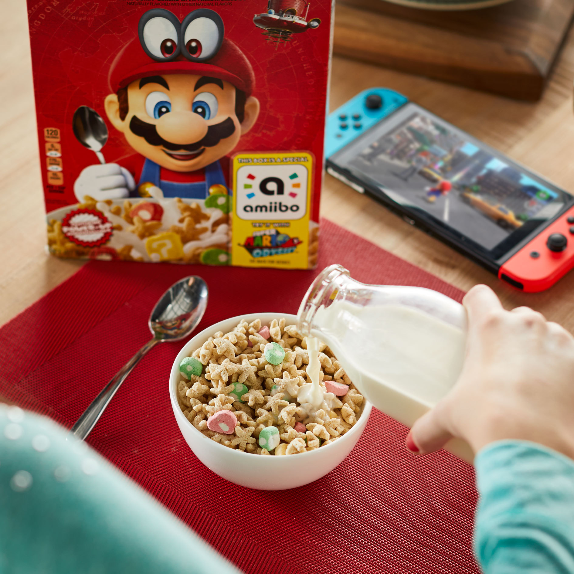 Kellogg's Confirm Super Mario Breakfast Cereal That Doubles as an amiibo