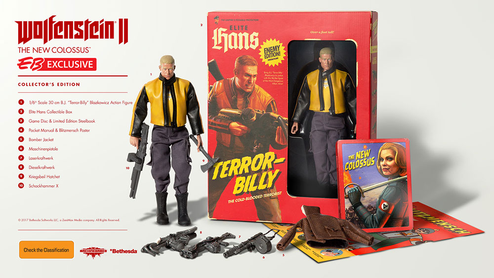Wolfenstein II's Latest Trailer Is All About Chocolate and a Balanced Diet
