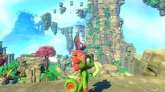 Yooka Laylee Tribalstack Tropics - Pagie Locations, Beat Great Rampo World 1 Boss, Butterfly Heart, Power Extender, Play Coin, Mollycool