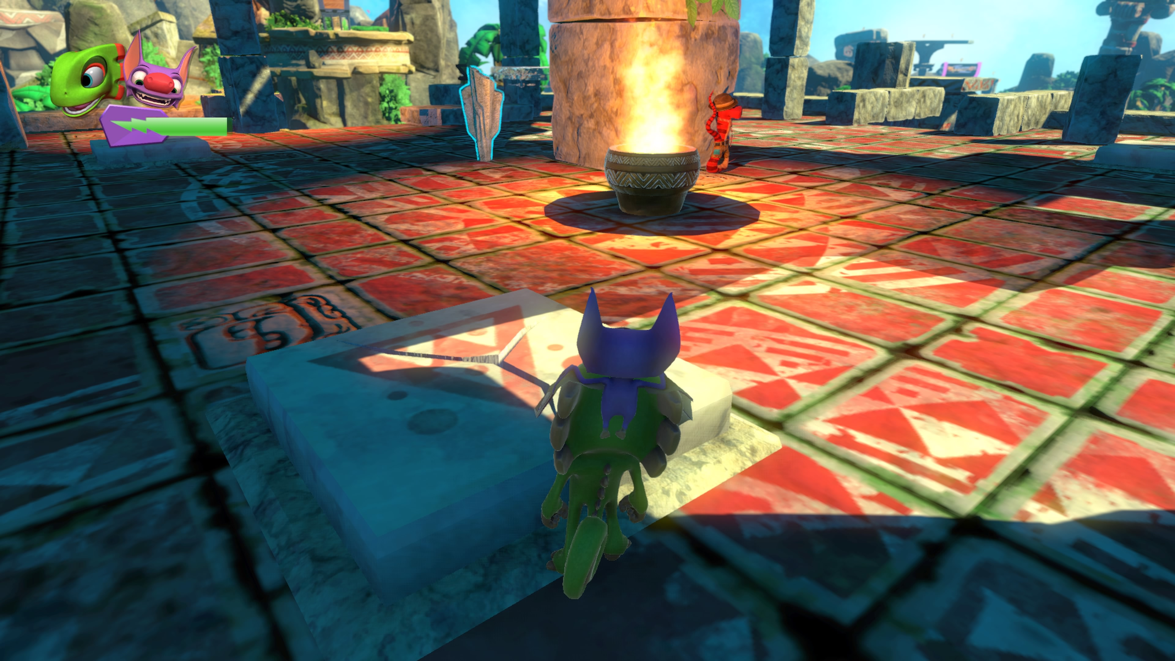how to win the cloud race in yooka laylee