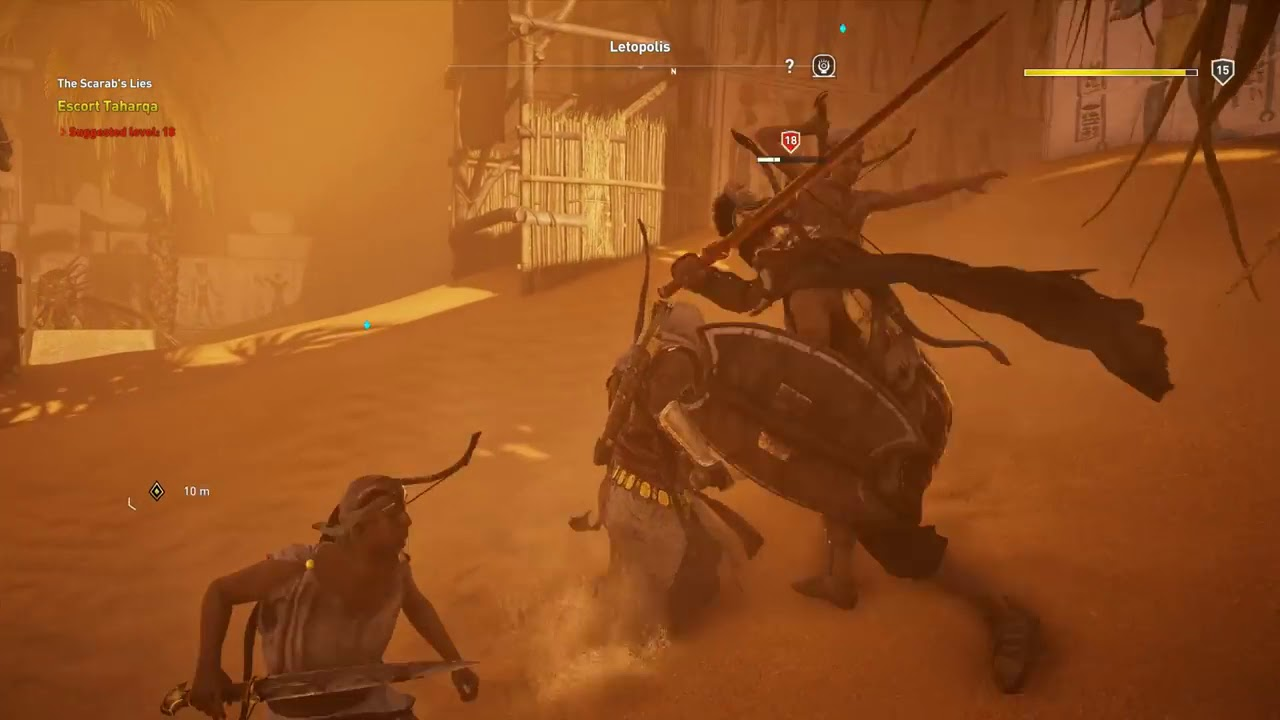 New Kid In Town Assassin S Creed Origins