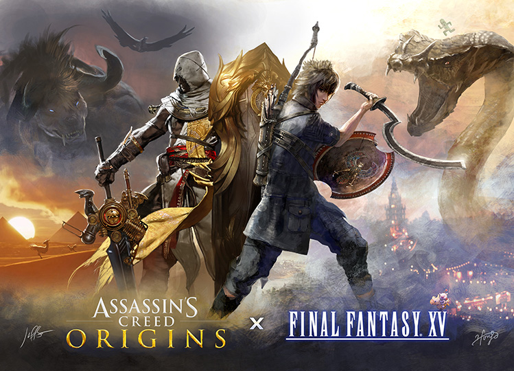 Final Fantasy XV Is Getting Free Assassin's Creed DLC on August 31