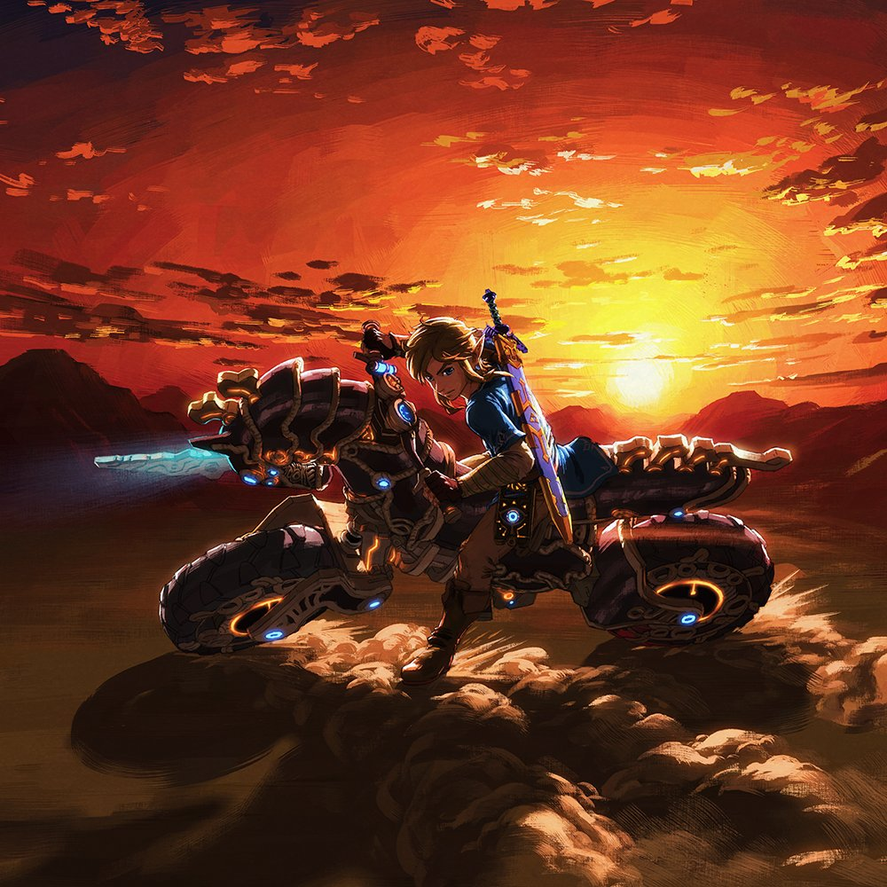 Zelda breath of the wild the champions 39 ballad guide how to start the dlc pack 2 usgamer - How do you get the master cycle zero ...