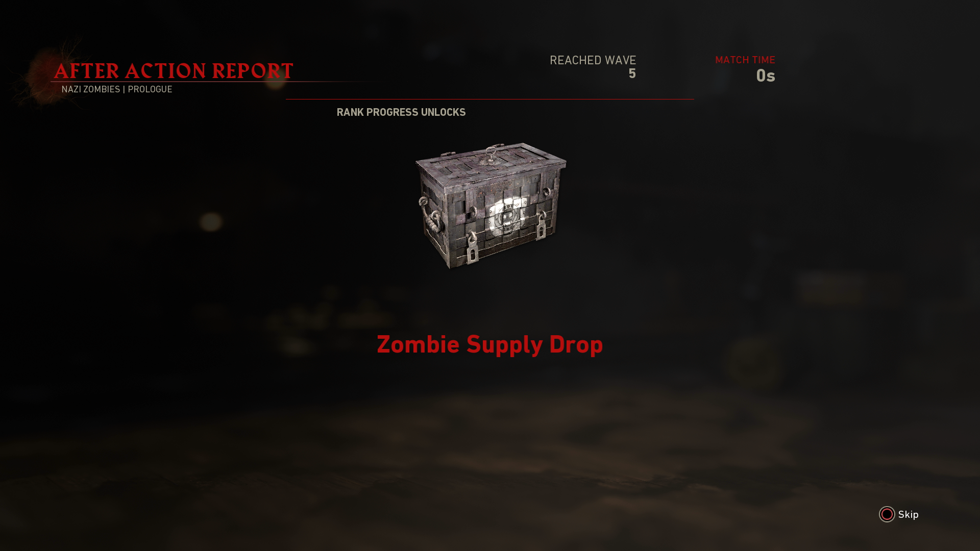how to open zombie crates ww2
