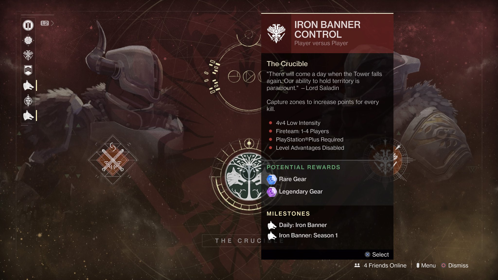 destiny iron banner matchmaking