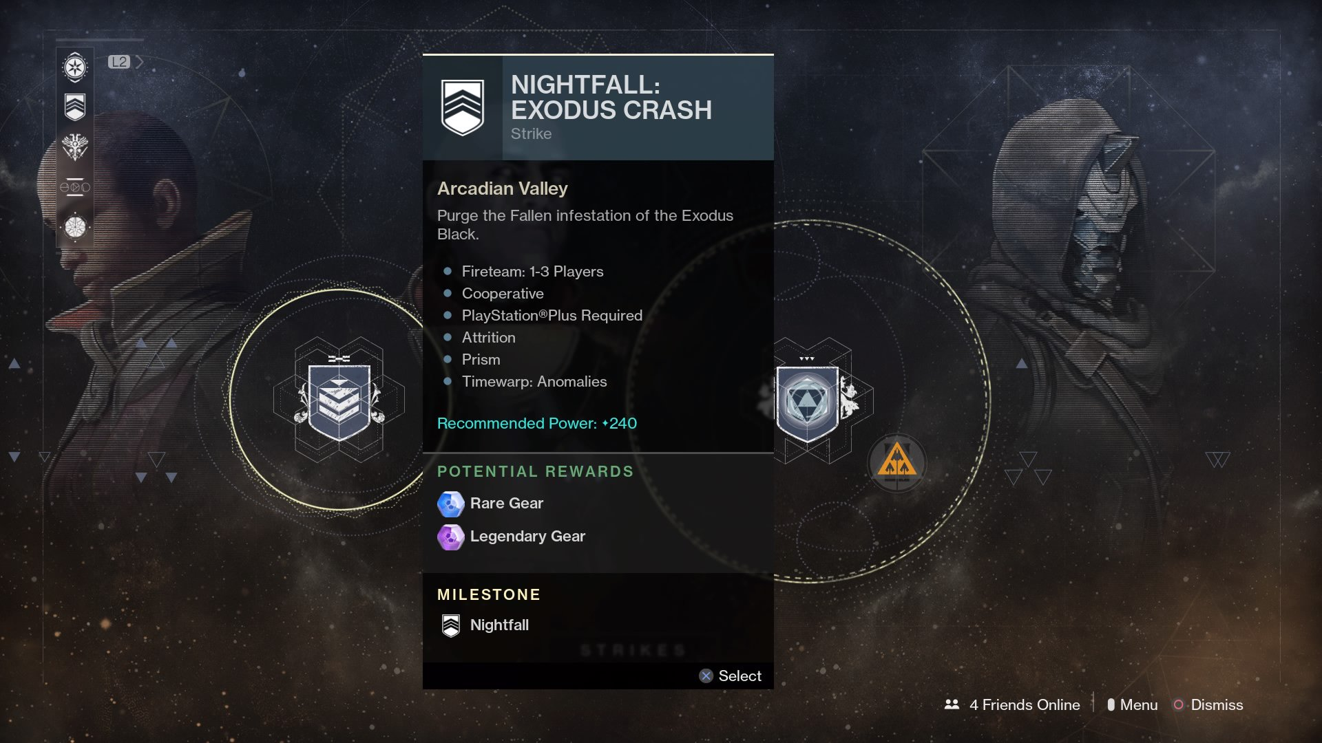 Destiny 2 Weekly Reset September 19th 2017 - Nightfall, Flashpoint