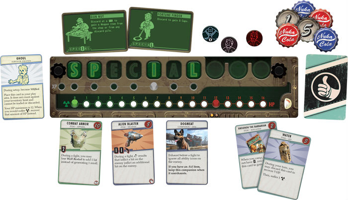 There's an official Fallout board game coming and it looks fantastic