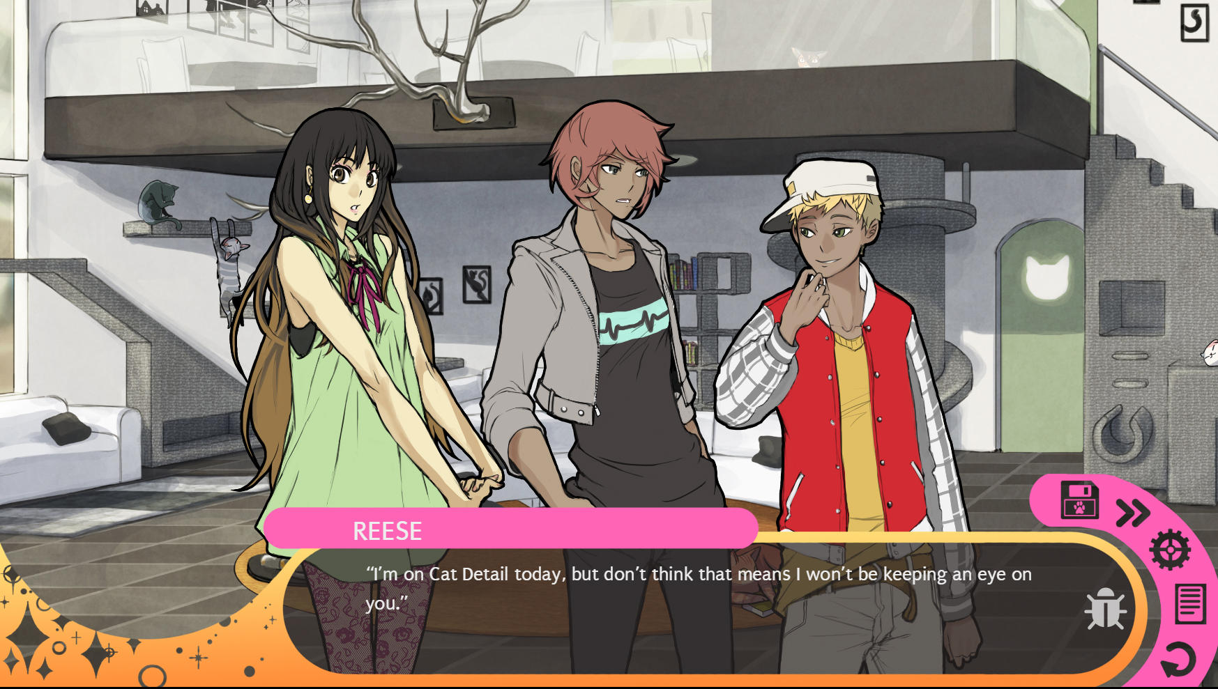 Dating a real cat girl dating sim