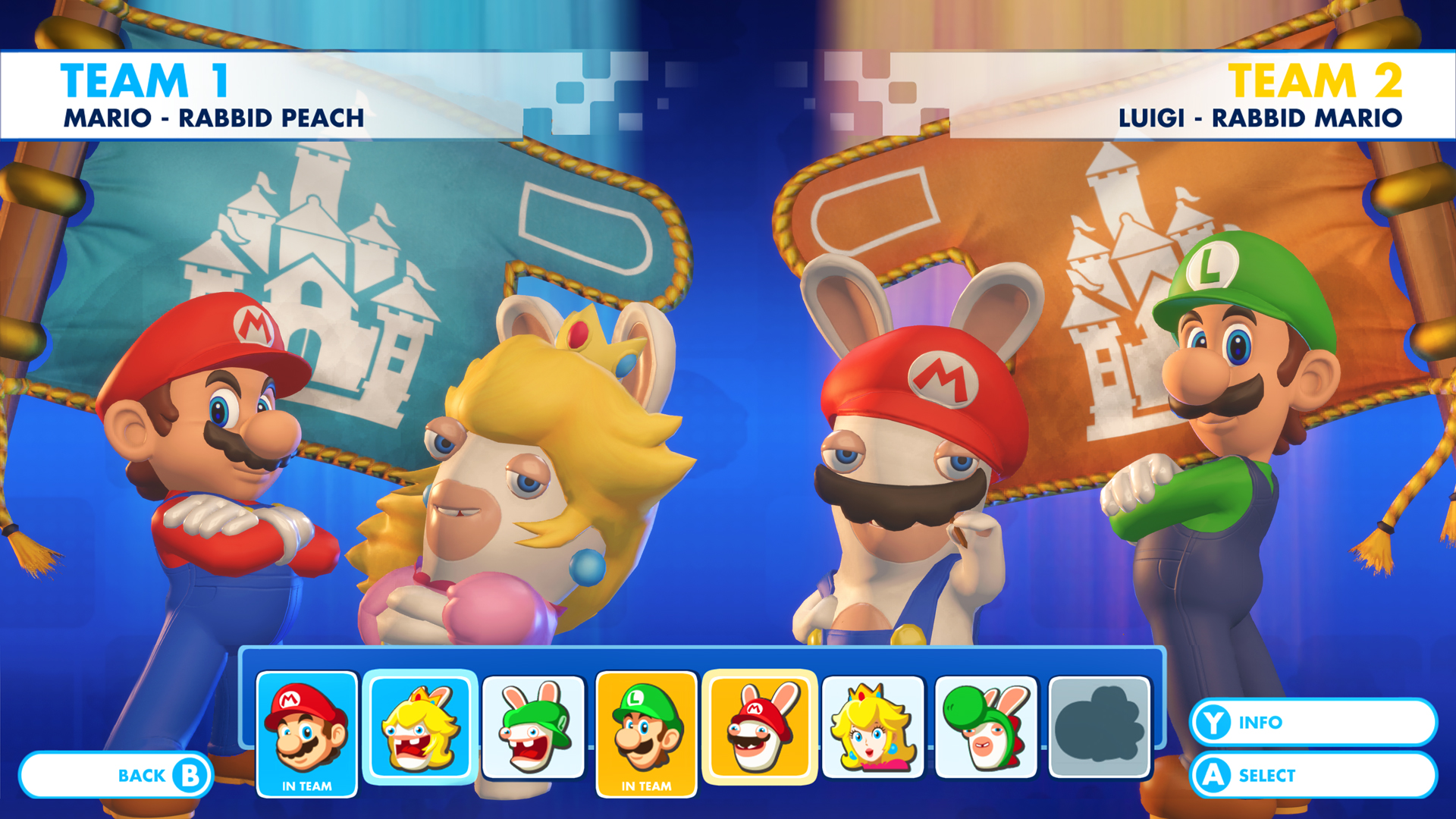 how to play mario rabbids multiplayer