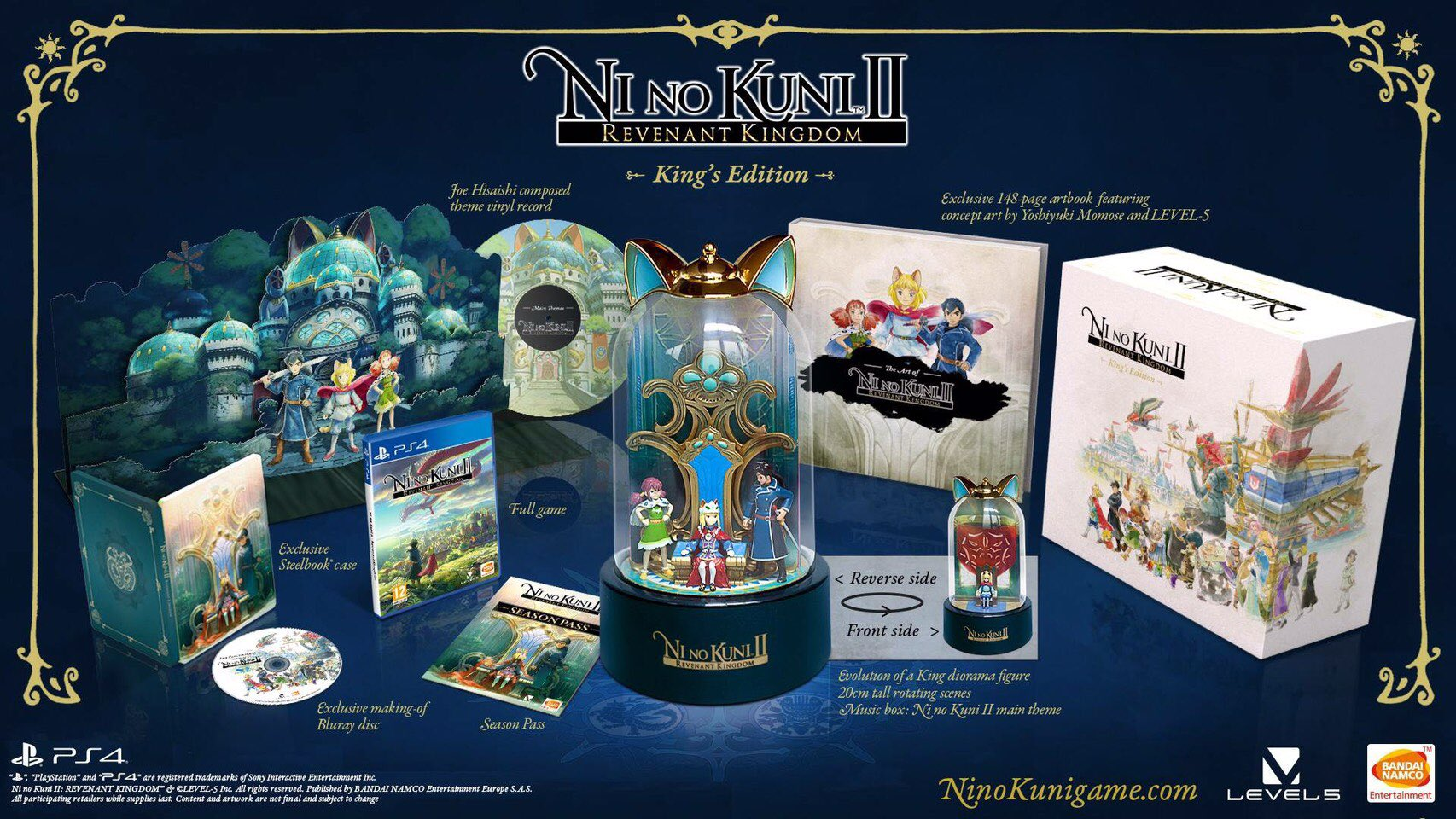 $200 Ni No Kuni 2 Collector's Edition Revealed, Season Pass Announced