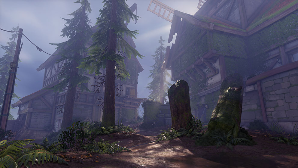 The Overwatch Arena's Black Forest map