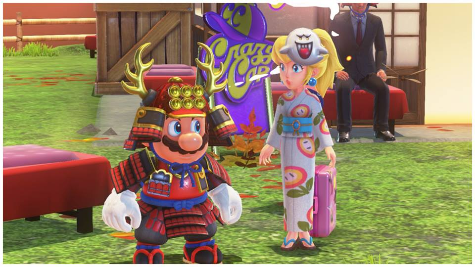 Check Out Princess Peach S Adorable Outfits From Super Mario Odyssey Usgamer
