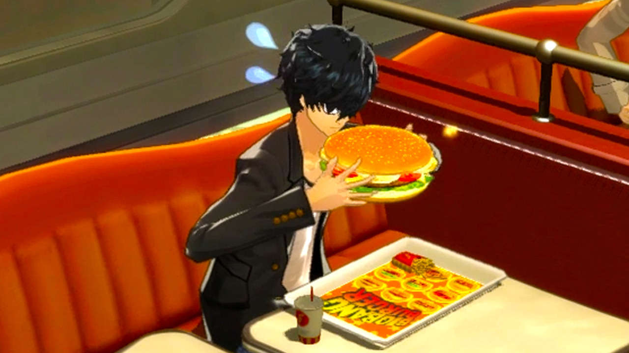 persona 5 big bang burger guide how to increase guts. Black Bedroom Furniture Sets. Home Design Ideas