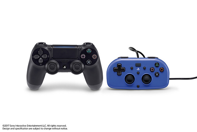 Ready player two: No-frills mini PS4 gamepad is designed for small hands
