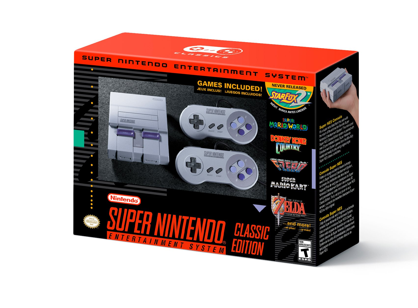 Snes Classic Mini In Its Us Form!