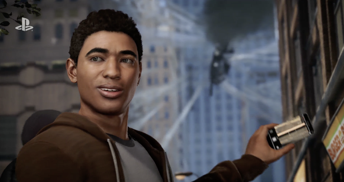 Miles Morales Is Peter's Contemporary in New Spider-Man PS4 Trailer
