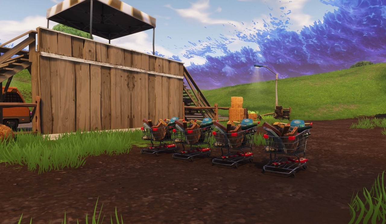 Fortnite All Shopping Cart Locations Metabomb