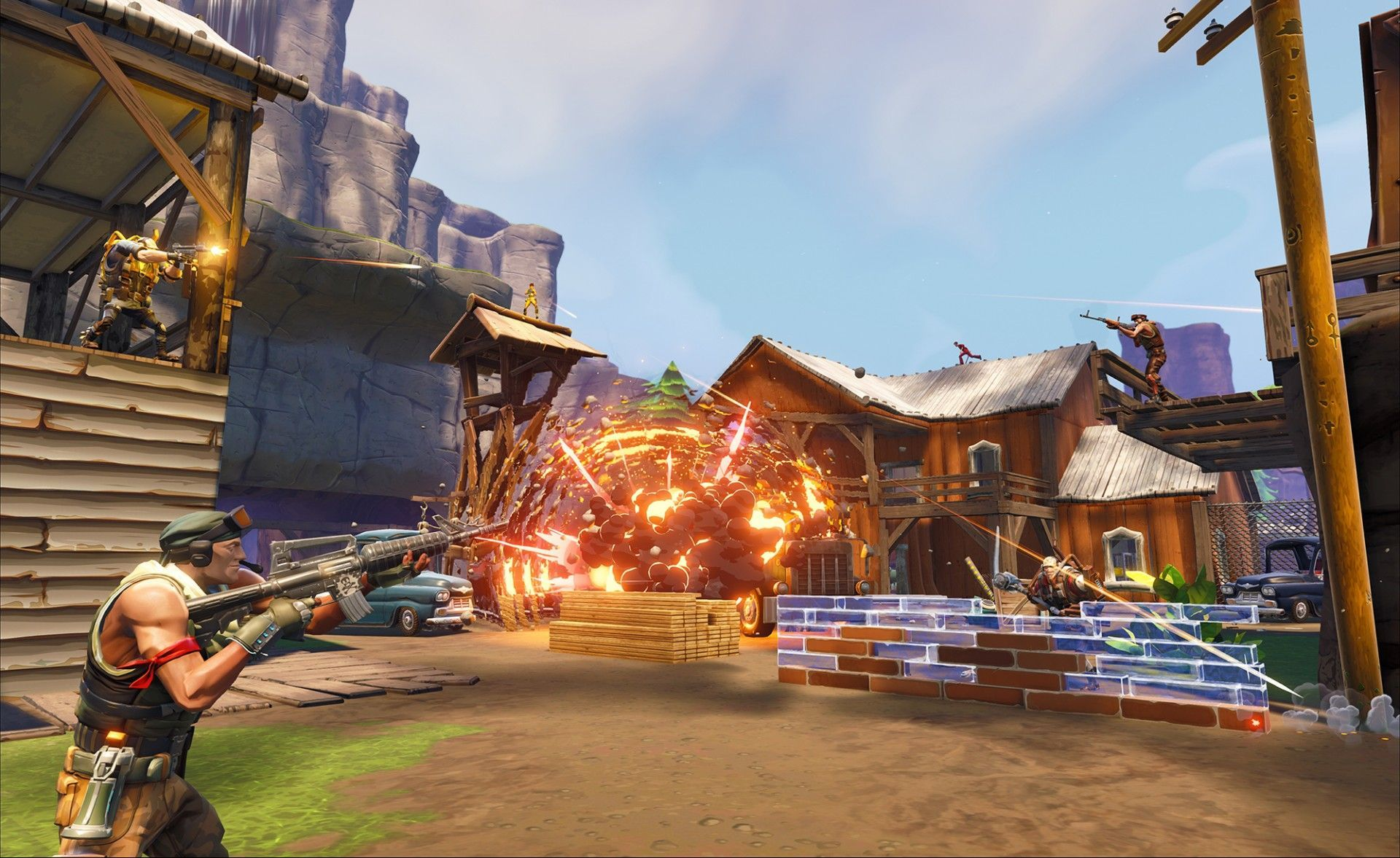fortnite battle royale guide our tips for gearing up and finding loot quickly and even our guide to gettings the best performance out of your system - how long is the average fortnite game