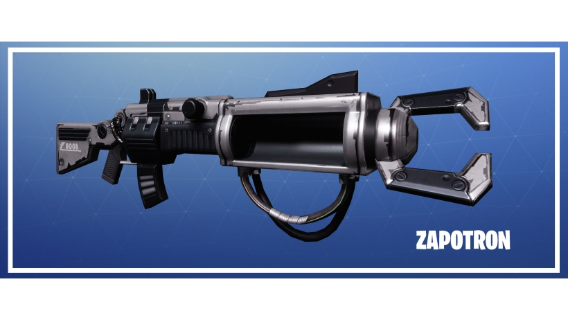 Fortnite Battle Royale Zapatron Gameplay Of The Rare And Secret