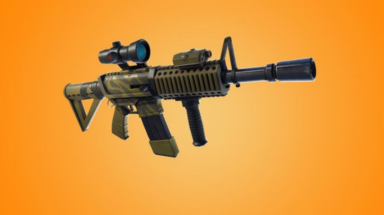 Fortnite Thermal Scoped Assault Rifle Guide Damage Stats And Tips