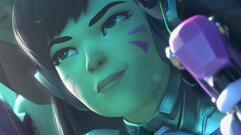D.Va Gets a Black Cat Skin for Tomorrow's Overwatch Cosmetic Update