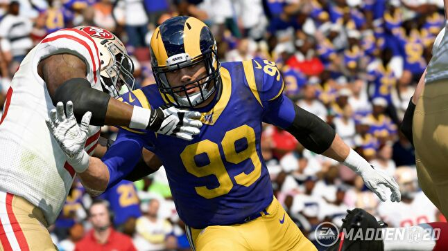Madden NFL 20 is one of three games coming to Microsoft's xCloud